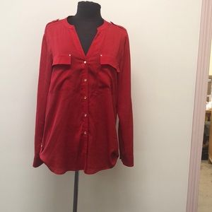 Chic Calvin Klein  blouse